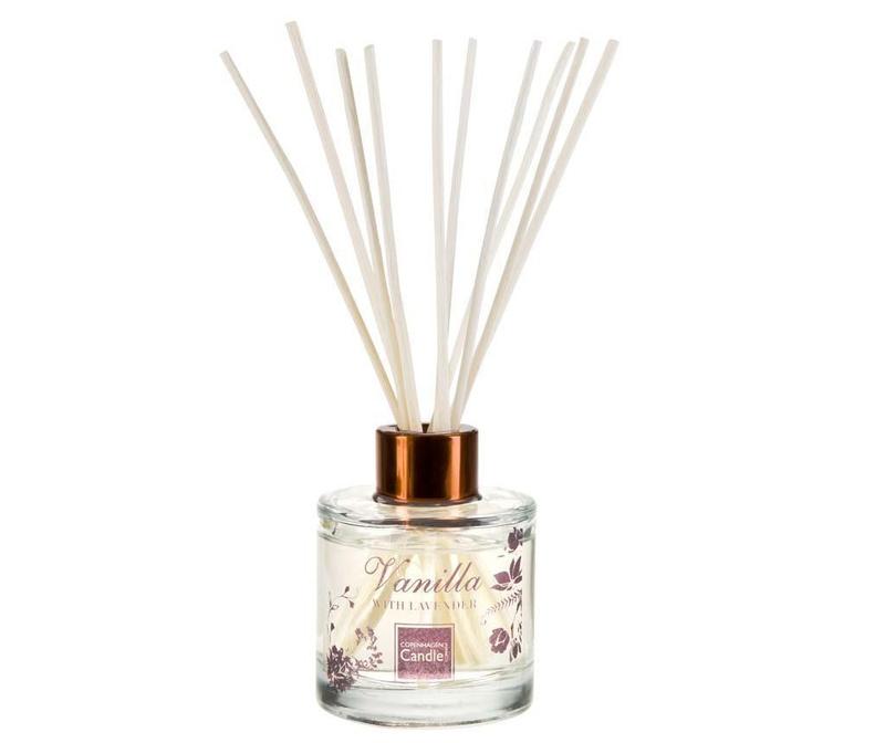 Difuzor cu uleiuri esentiale si betisoare Romantic Vanilla and Lavender 100 ml