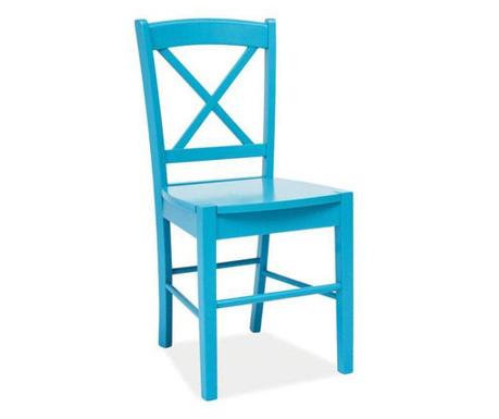 Stolička Crossed Blue