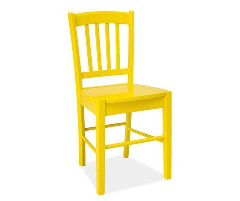 Scaun Striped Yellow