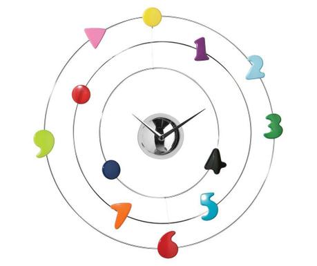 Nástěnné hodiny Colourful Numbers