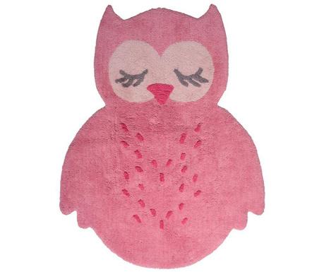 Dywan Sleepy Owl Pink 95x120 cm