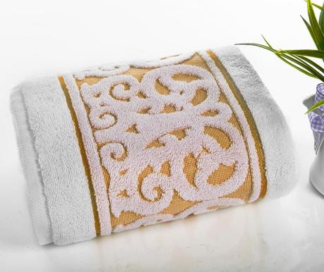 Ręcznik kąpielowy Suede Orange 50x90 cm