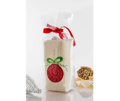 Bauble Cream Gift Fürdőszobai törölköző 30x45 cm