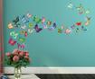 Sticker Butterflies and Swarovski