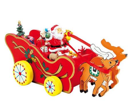 Glasbena dekoracija Christmas Carriage