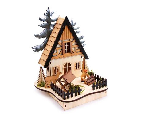 Světelná dekorace Forest-Hut