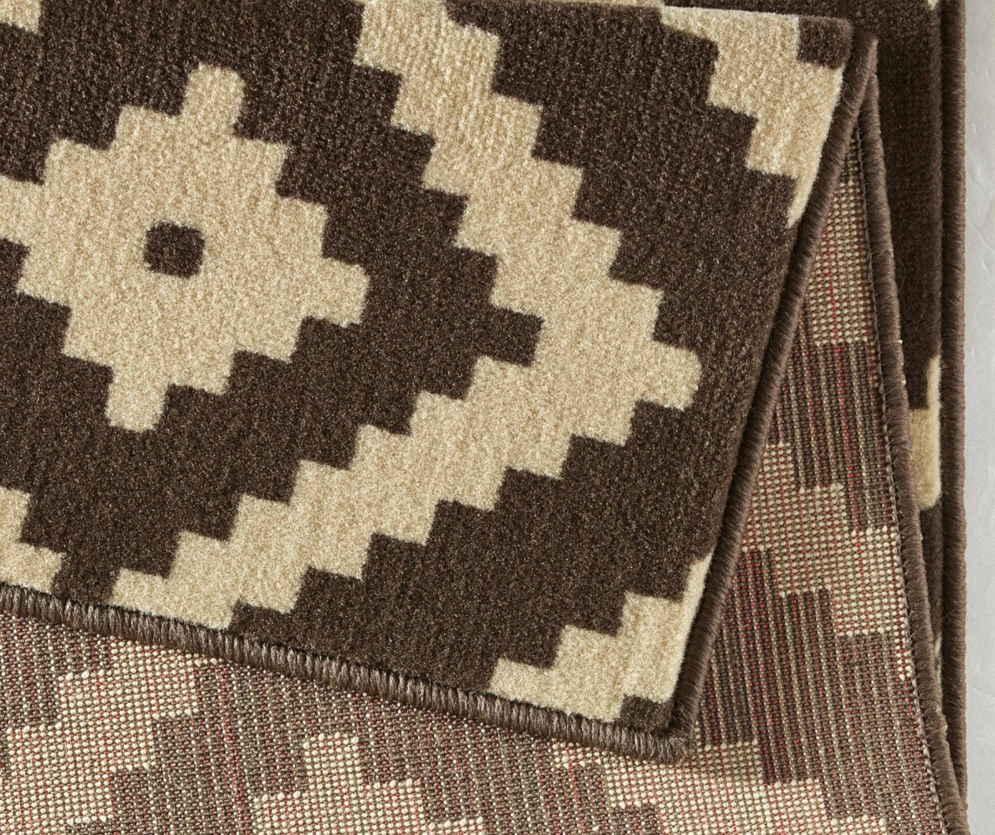 Covor Diamond Dark Brown 80x150 cm
