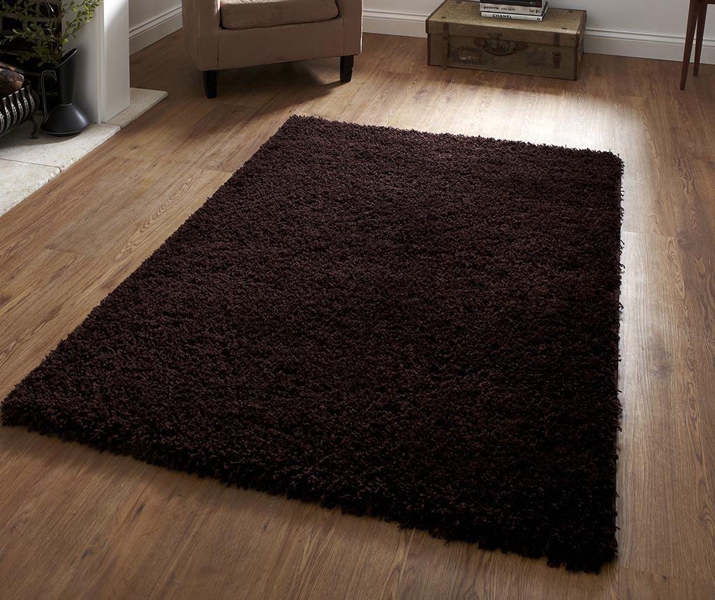 Covor Vista Dark Brown 160x230 cm
