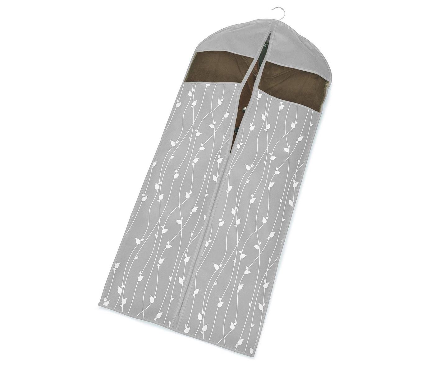 Husa pentru haine Leaves Grey 60x137 cm