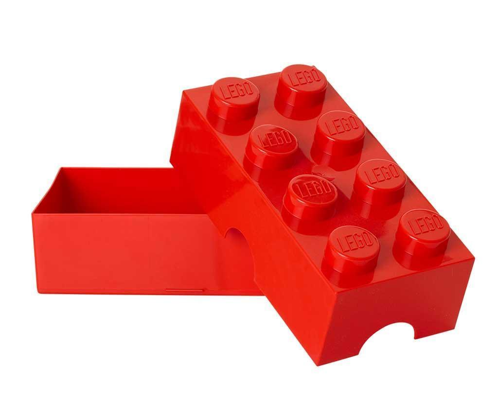 Lego Red Uzsonnás doboz