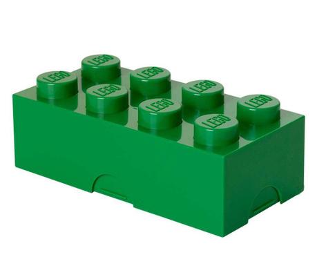 Kutija za užinu Lego Dark Green