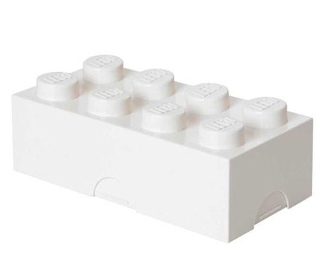Pudełko obiadowe Lego White