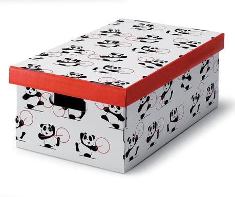 Škatla za shranjevanje Pandas