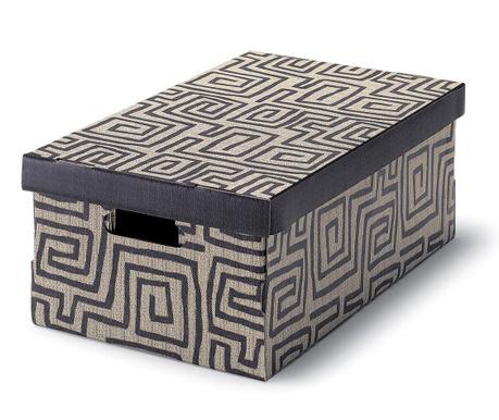 Škatla za shranjevanje s pokrovom Ethnic
