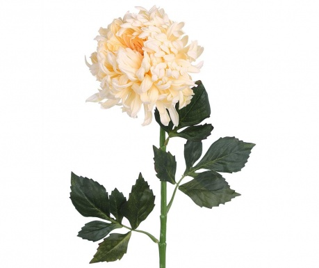 Umelá kvetina Chrysanthemum Cream