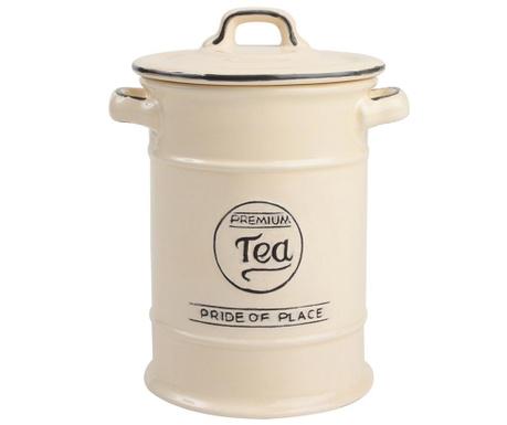 Pojemnik z pokrywką na herbatę Pride Cream