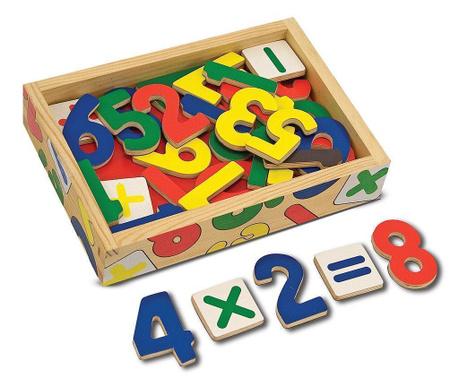 Set 32 cifre, 5 semne aritmetice si cutie Matematics