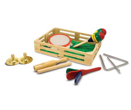 Set 6 glazbenih instrumenata za djecu i kutija Sounds