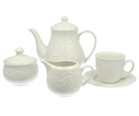 Piętnastoczęściowy zestaw do herbaty Round Hemingway