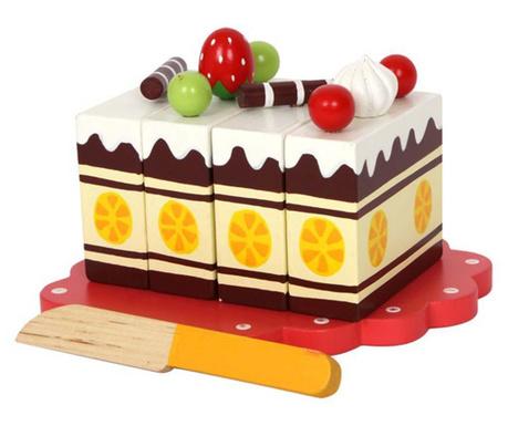 Tort zabawkowy Birthday