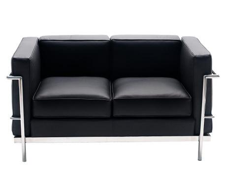 Canapea 2 locuri Praga Black