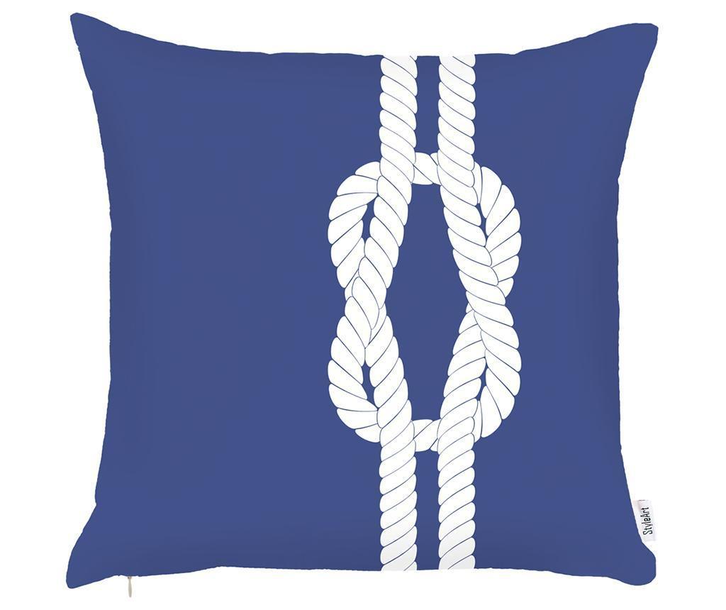 Prevleka za blazino Rope Blue 43x43 cm