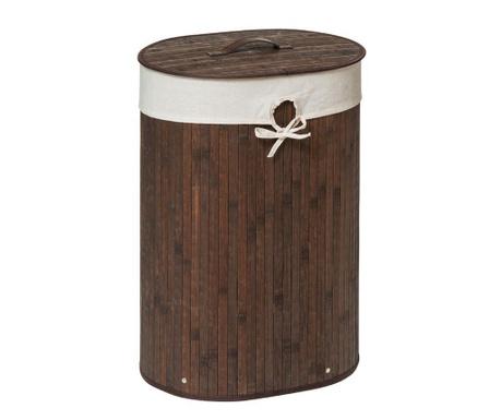 Кош с капак за дрехи Kankyo Oval Brown