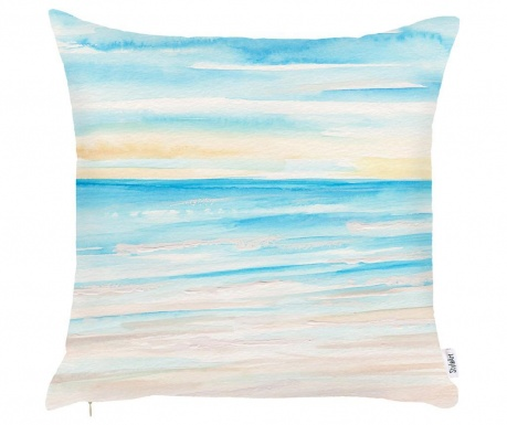 Fata de perna Sunset Light Blue 43x43 cm