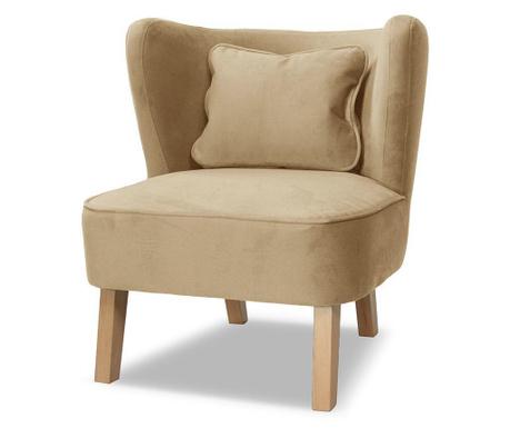 Fotel Organza Taupe