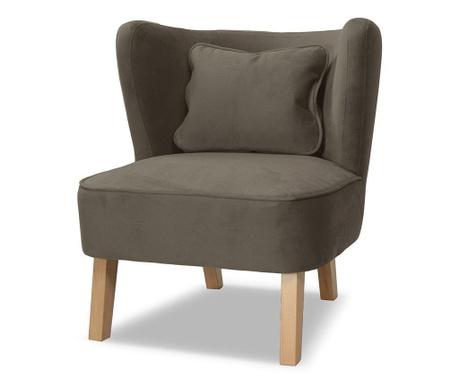 Fotel Organza Anthracite