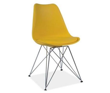Krzesło Carly Yellow