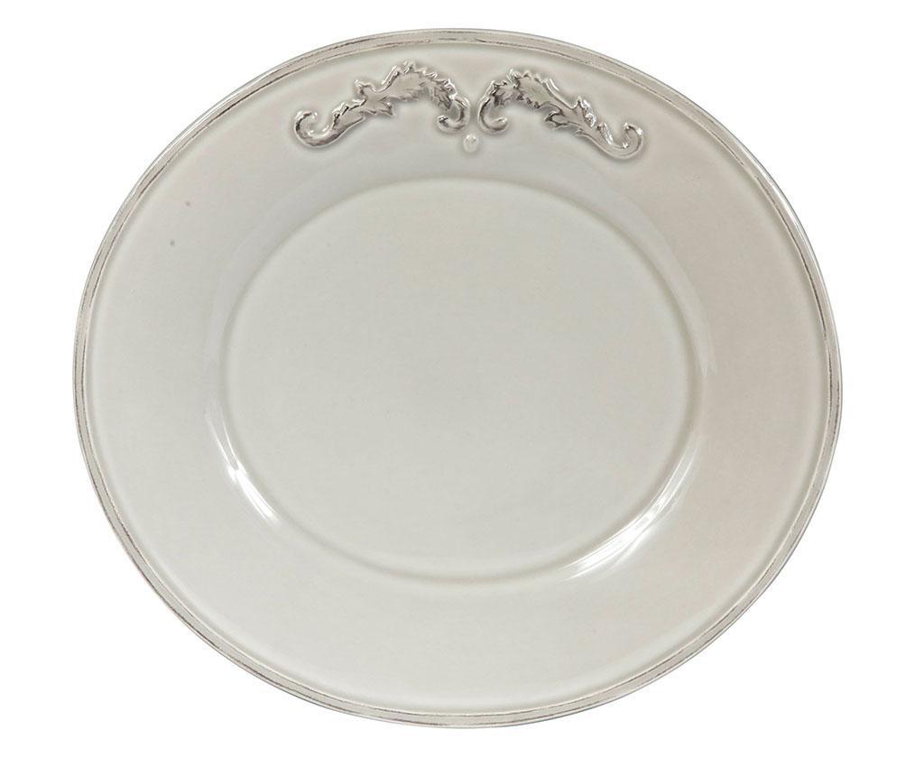 Trianon Light Grey Desszertes tányér