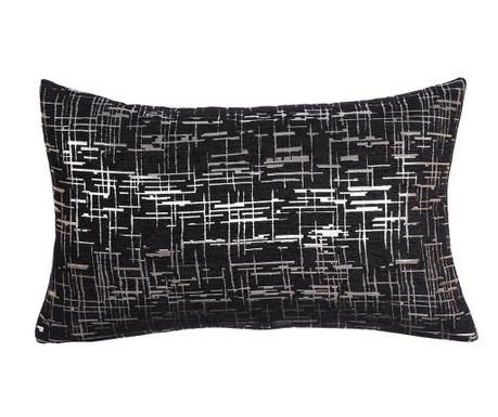 Dekoračný vankúš Striped Black