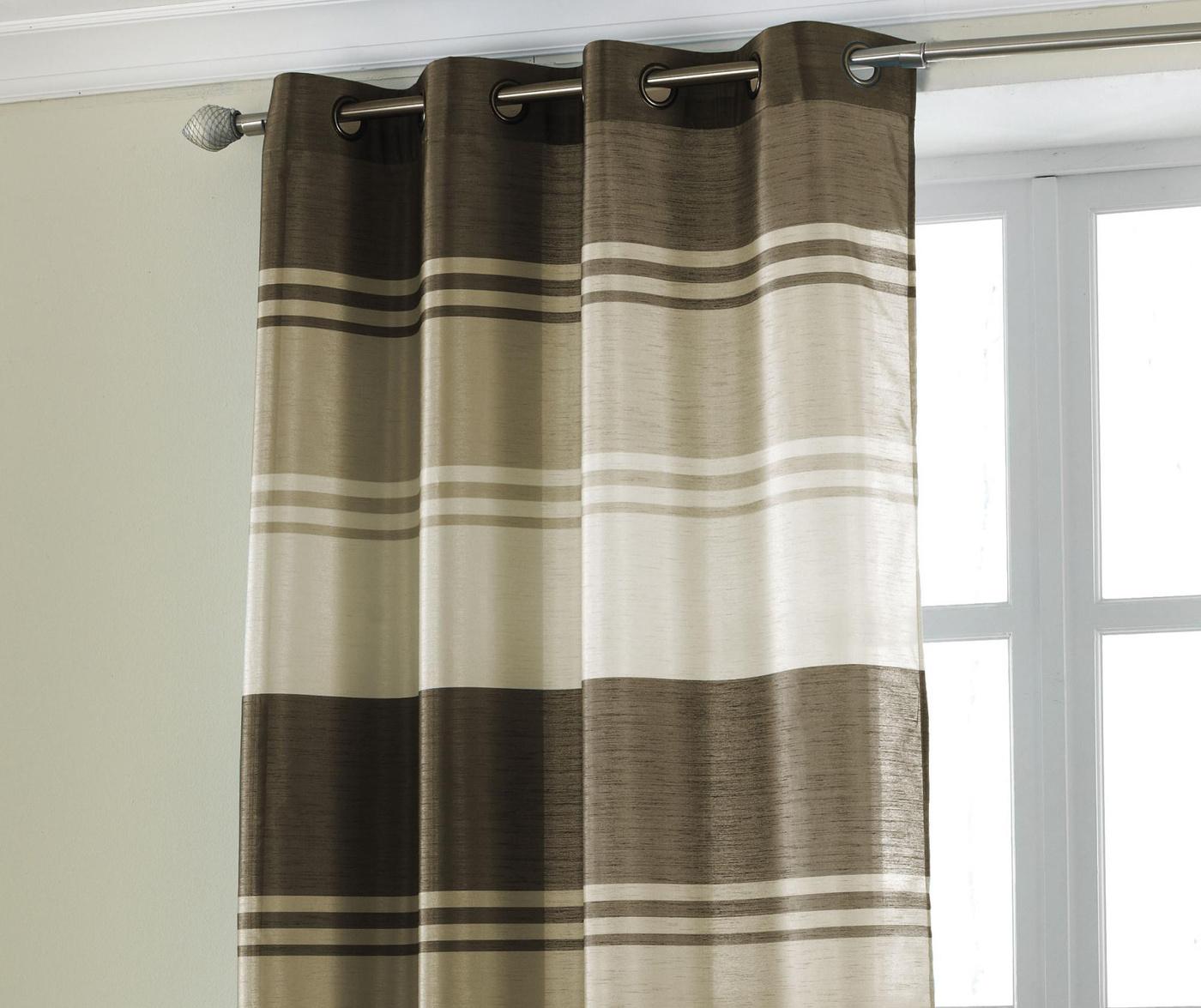 Perdea Stripe Brown 145x228 cm