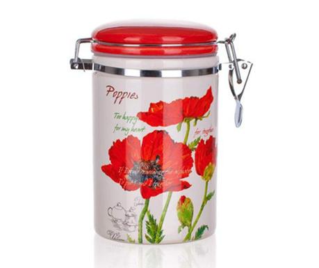 Nádoba s hermetickým víkem Red Poppy 750 ml