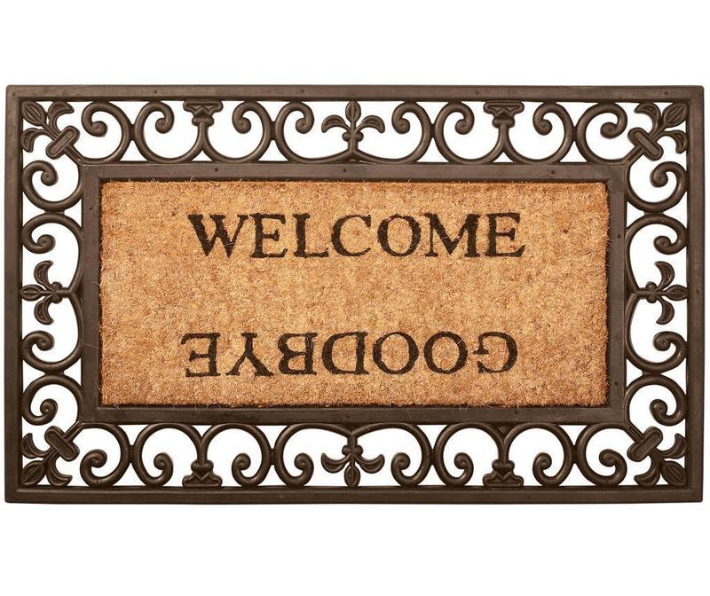 Vchodová rohožka Welcome Goodbye 44.5x75.5 cm