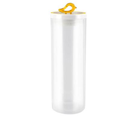 Livio Bird Yellow Tároló fedővel 1.8 L