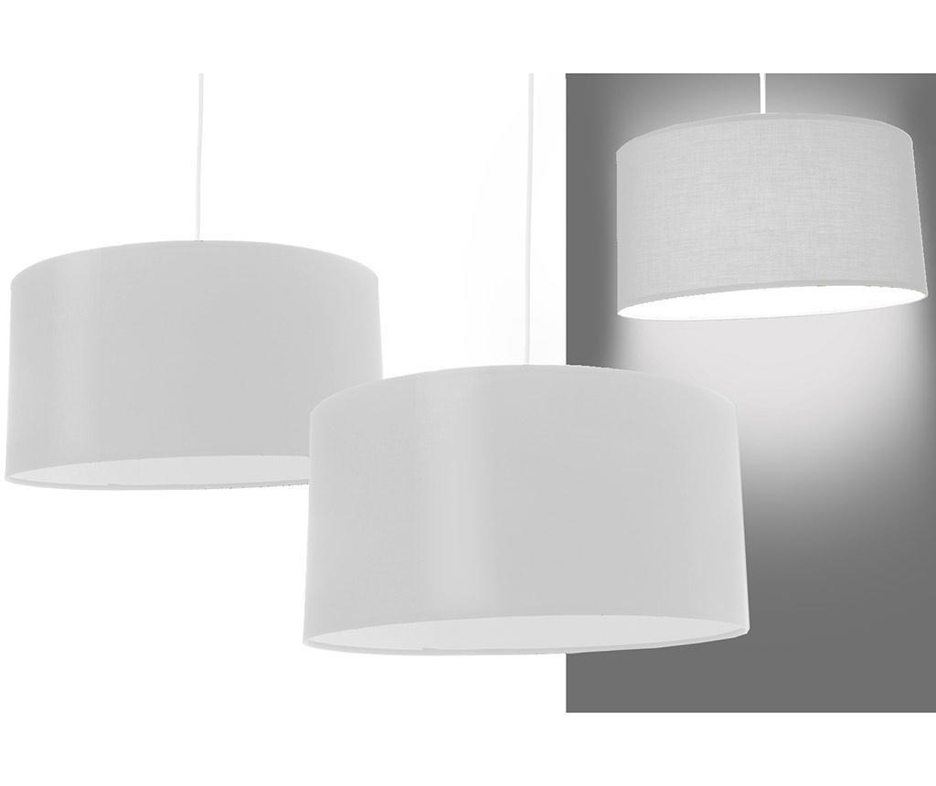Set 2 lustre Simple White