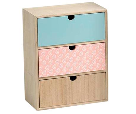 Luana Peach Ékszertartó szekrényke