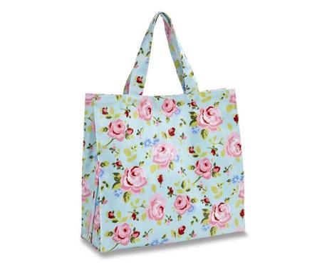 Wodoodporna torba na zakupy Vintage Floral S