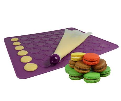 Purple 8 darabos Szett Macarons készítésére