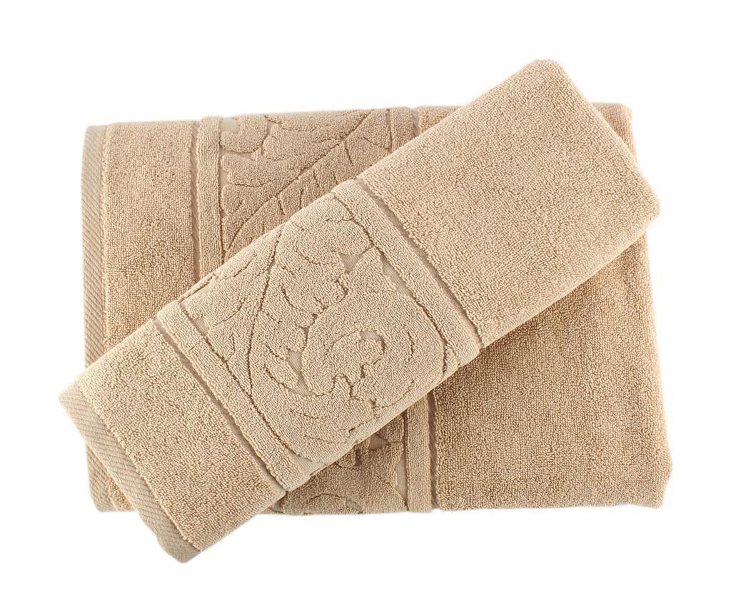 Set 2 kupaonska ručnika Sultan Beige