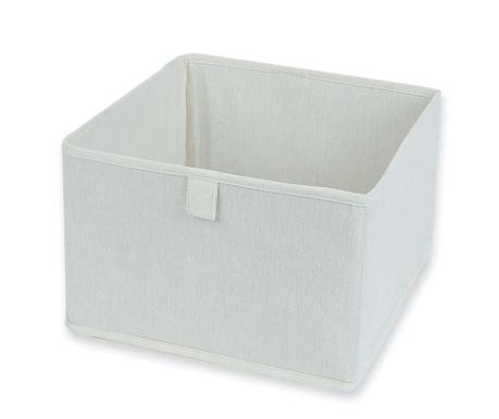 Natural White Összecsukható tárolódoboz