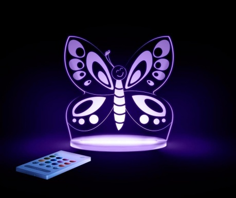 Nočna lučka Butterfly