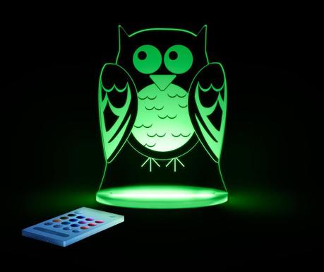 Lampa de veghe Owl