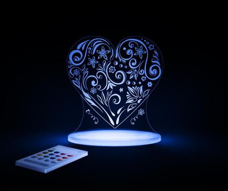 Love Heart Éjjeli fény