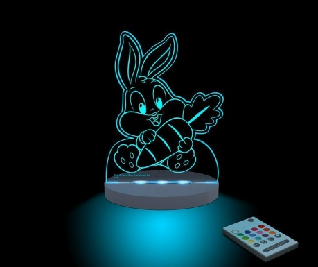 Lampa de veghe Baby Looney Tunes Bugs Bunny