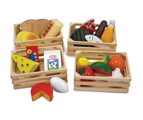 Namirnice igračke 25 dijelova Food