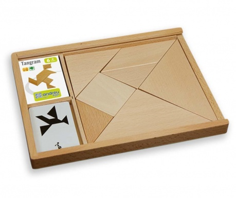 Gra tangram 7 elementów Mollow