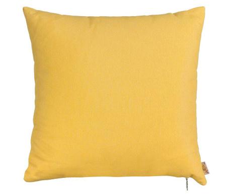 Poszewka na poduszkę Thoughts Yellow 41x41 cm